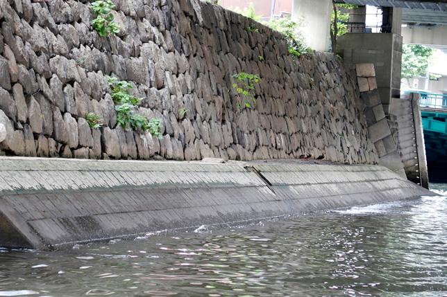 雉子橋(きじばし)付近にある江戸城の外堀