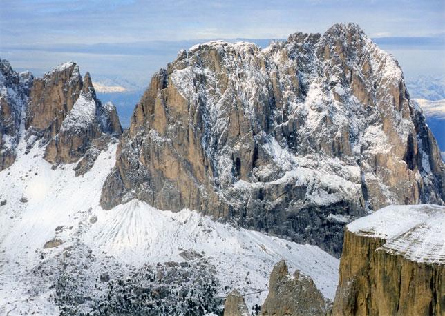 イタリアのドロミテ(ドロミーティ)の山