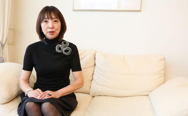 日本ソワサンタンウォーキング協会の代表・松尾多惠子さん
